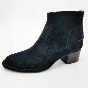 NWOB UGG Bandara Black Suede Ankle Boots